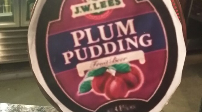 Plum Pudding – J. W. Lees Brewery