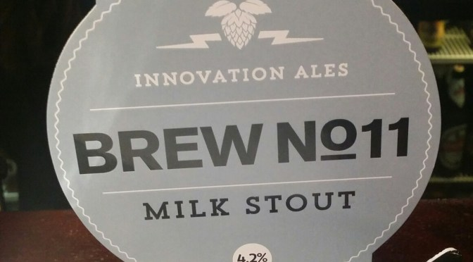 Brew No.11 Milk Stout – Rudgate Ales