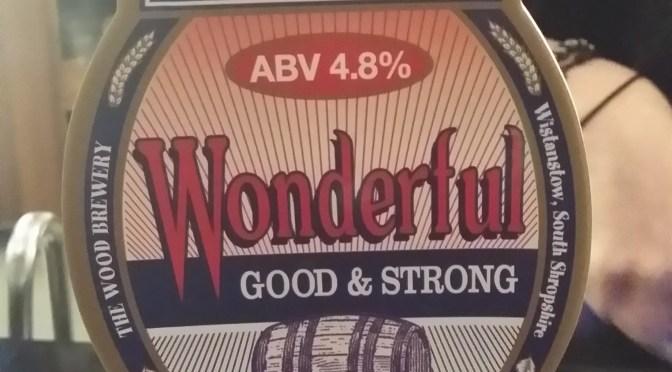 Wonderful – Wood's Shropshire Beers