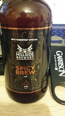 Spicy Brew (Spictoberfest Special) – Hillside Brewery