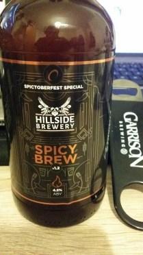 Spicy Brew (Spictoberfest Special) – Hillside Brewery
