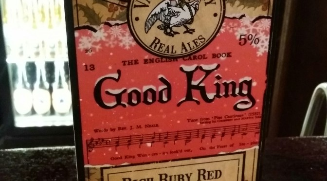 Good King – Vale Brewery