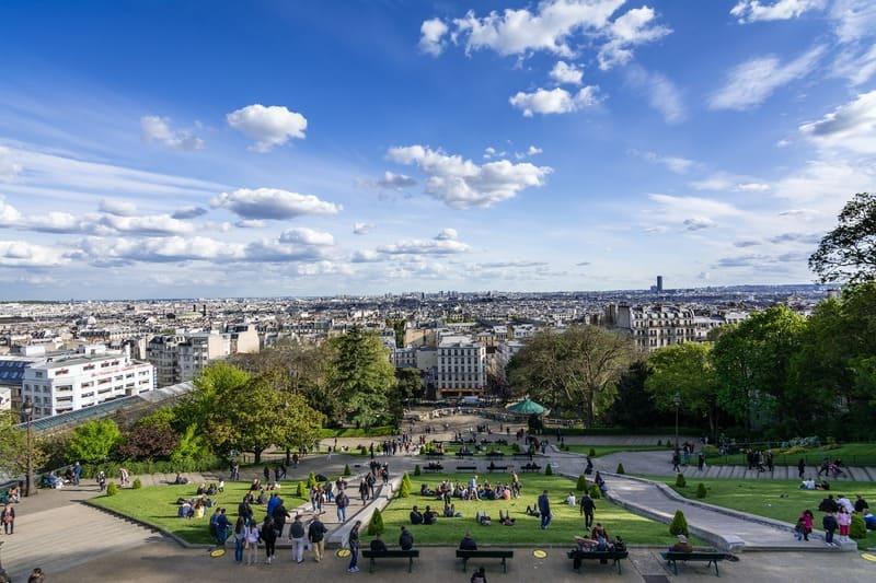 Le panorama de Montmartre, un endroit à ne pas louper si vous êtes de passage à Paris !