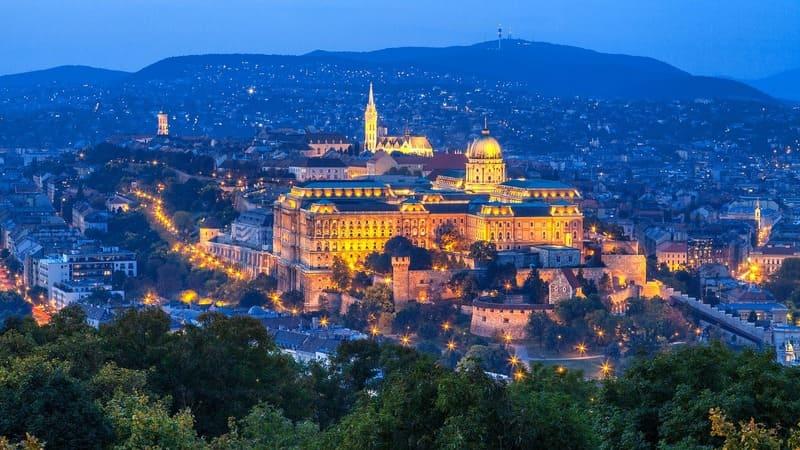 que faire à Budapest - Budai Vár