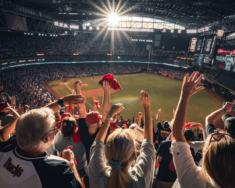 le plus grand stade du monde - stade et spectateurs