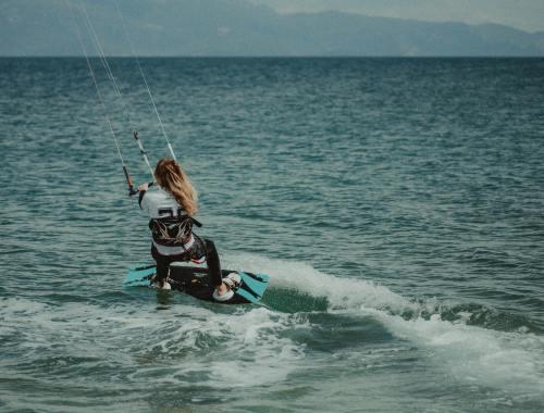 Kite surf sport tendance