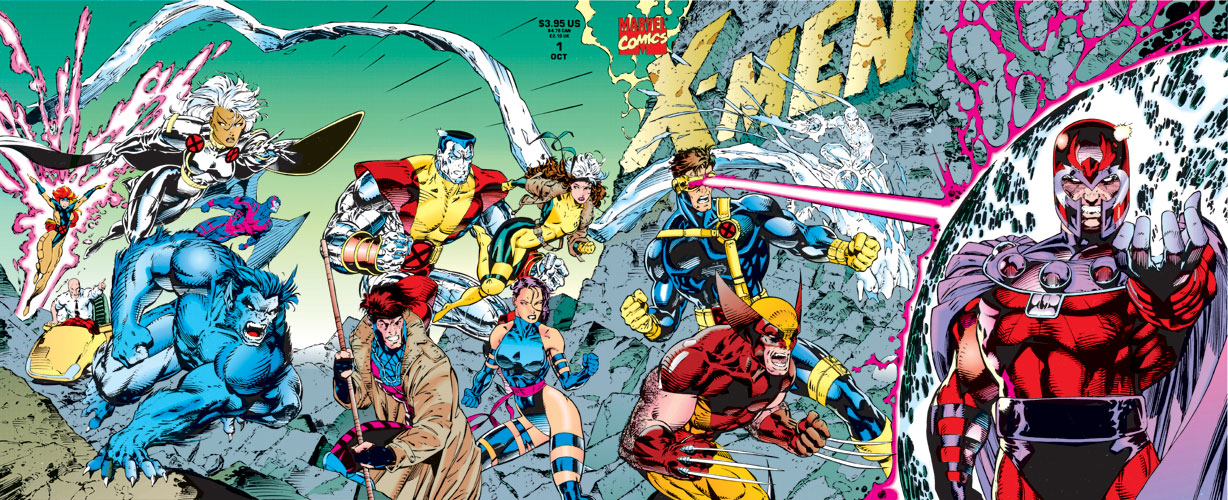 X-Men #1, de Jim Lee