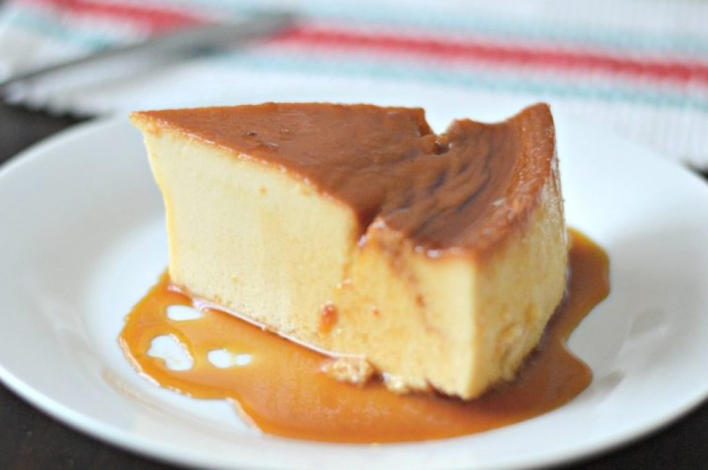 This super easy flan recipe is the perfect texture, tastes great, and is sure to please a crowd.