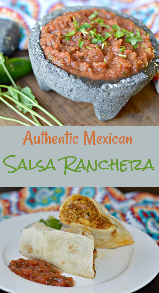 Learn how to make this simple, yet delicious Mexican salsa ranchera recipe, which goes great with almost anything!