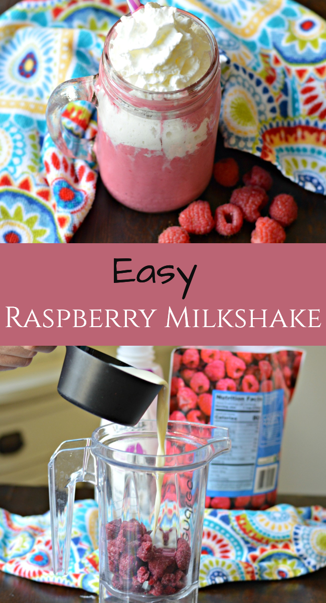 Find out how to make this delicious, creamy, and easy raspberry milkshake recipe using frozen raspberries and coffee creamer.