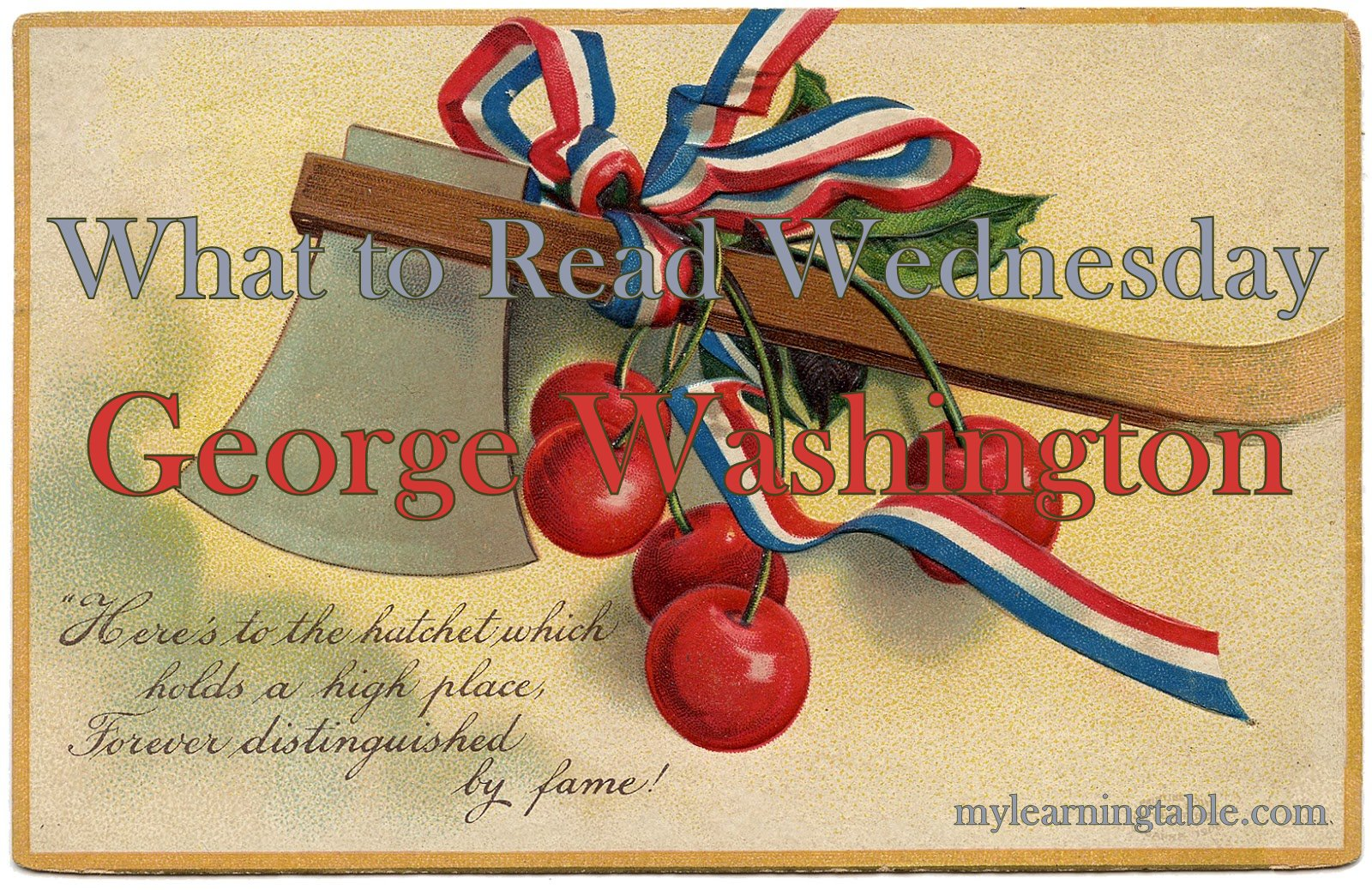 What To Read Wednesday George Washington Books For Kids