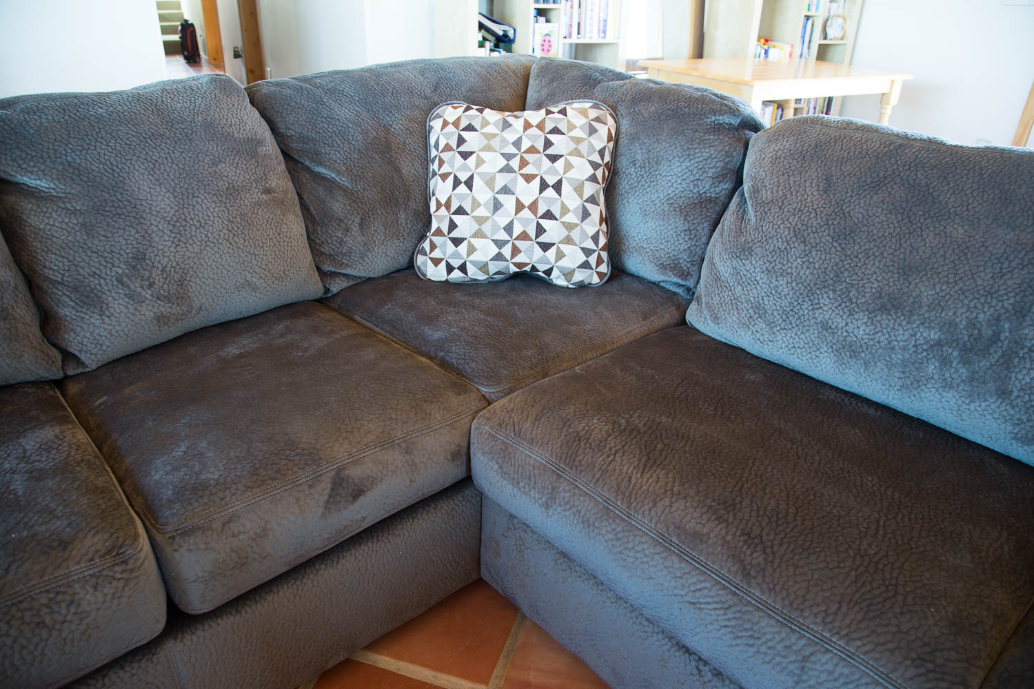 corner sectional sofa reviews catnapper reclining set ashley jessa place review - my legit