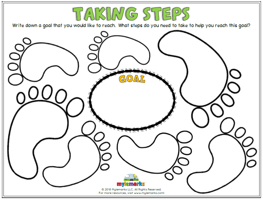 Goal Setting and Growth Mindset Worksheets