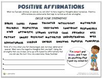 Printable Worksheets  Worksheets For Self Esteem ...