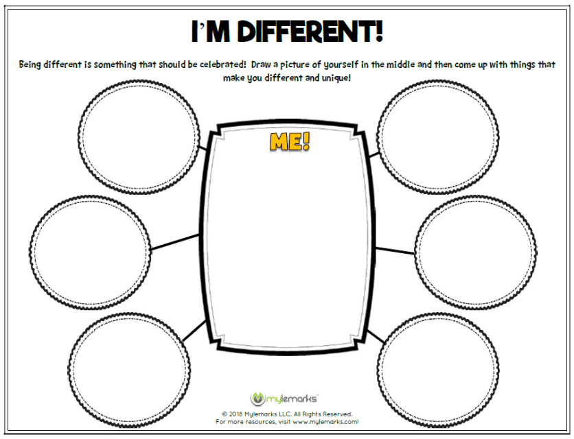 Self-Esteem Worksheets