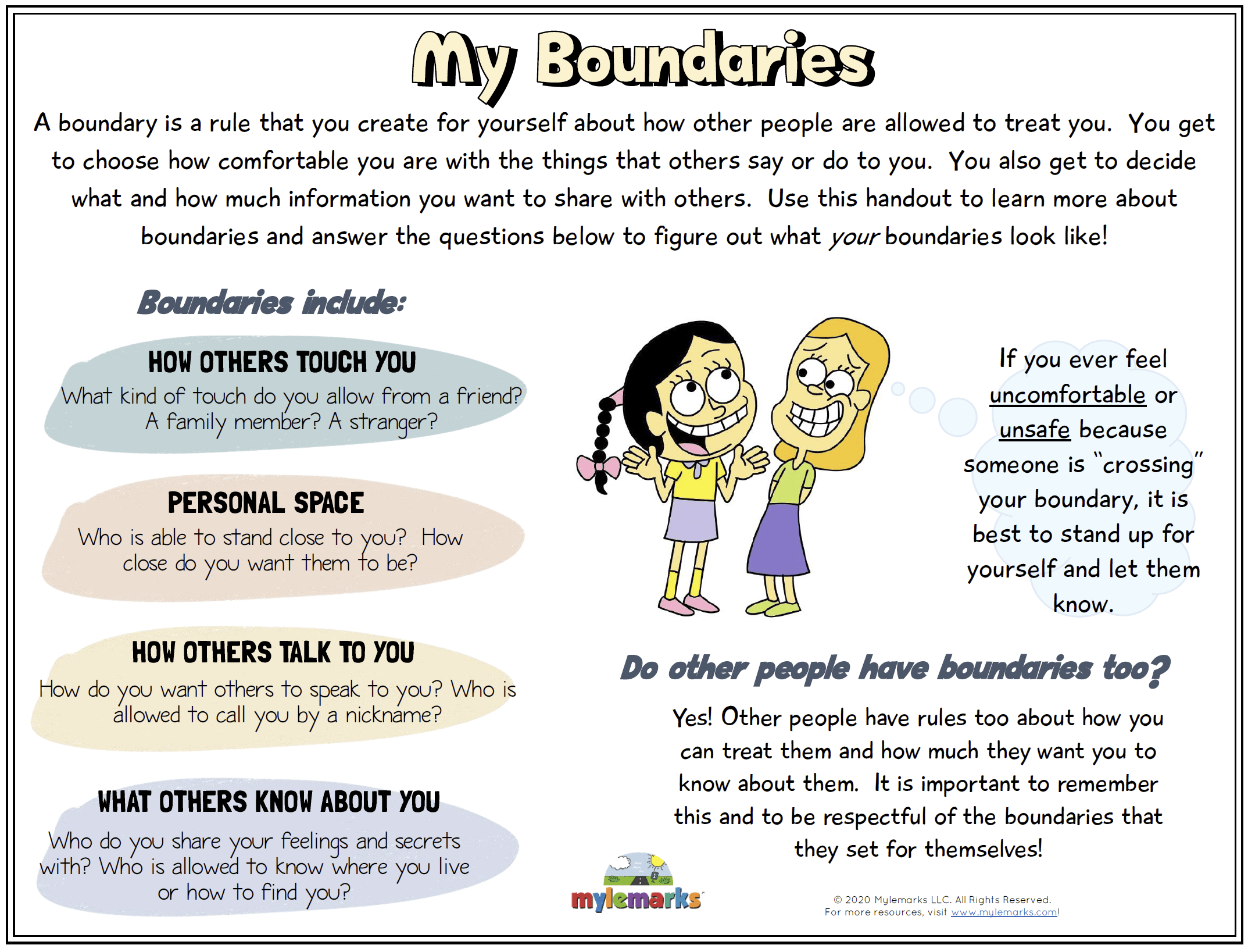 My Boundaries