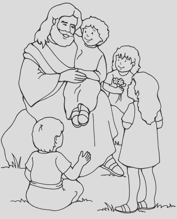 32 Cool Images Of Jesus Loves Me Coloring Page Printables