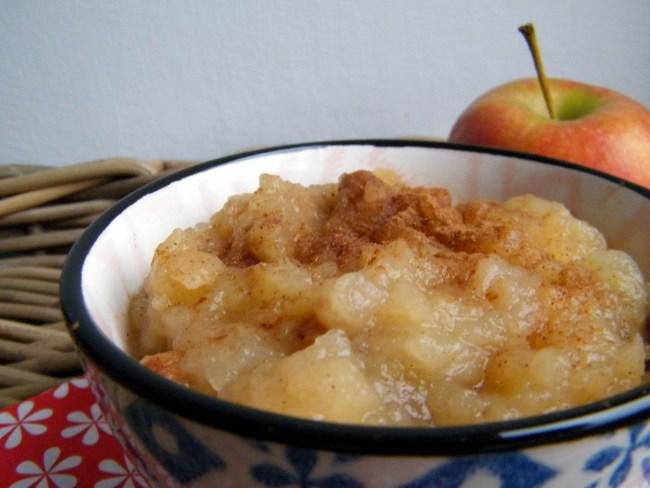 suikervrije appelcompote