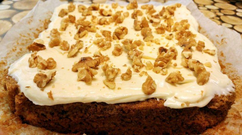 pompoencake met roomkaas-botercrème