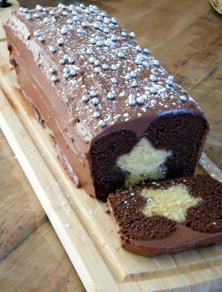 chocolade kerstcake