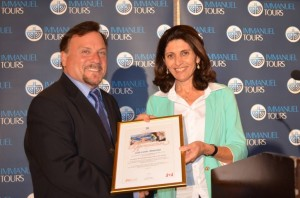 Israel's Ministry of Tourism Thanks Zola Tours