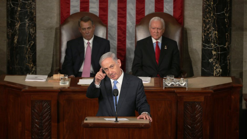 Bibi Netanyahu speaks to congress