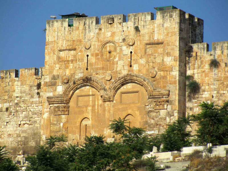 golden gate in jerusalum