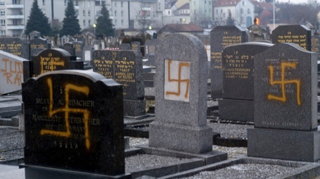 Recent increase in AntiSemitic attacks