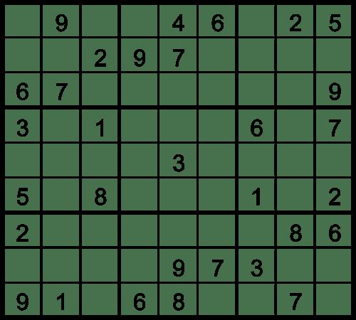 Medium Printable Sudoku Sheets
