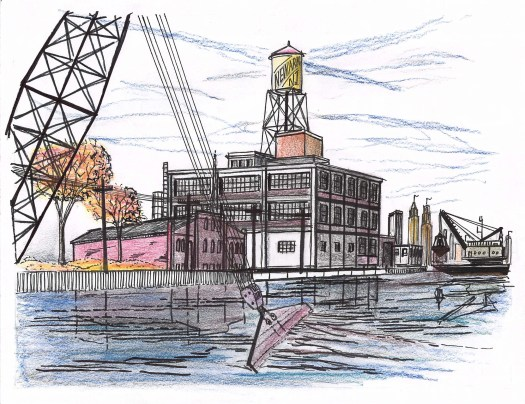 Dredging toxic industrial runoff buried in the river