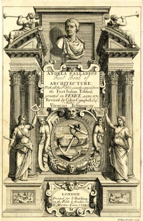 "Frontispiece of ""De Architectura"""