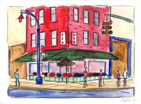 Bayard and Mulberry Street grocery