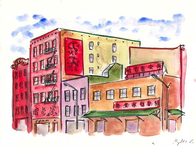 Forsyth and Delancey street grocery