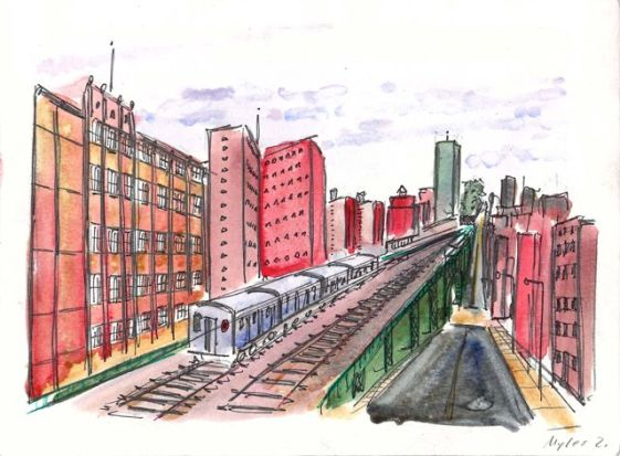 Subway Viaduct (135th)