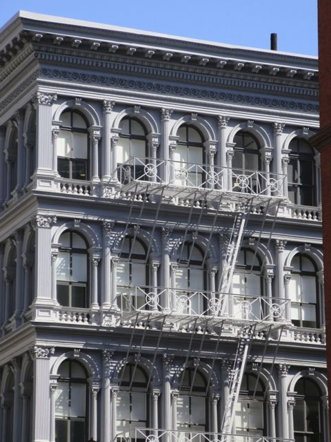 Cast iron building on Broadway
