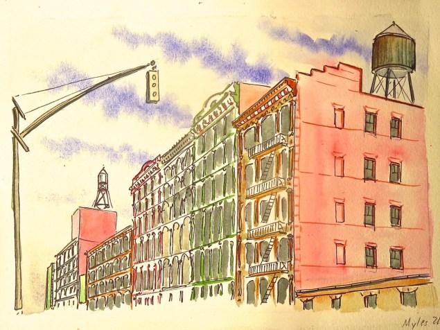 Greene and Prince Street