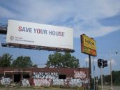 "Drink liquor then ""Save Your House."""