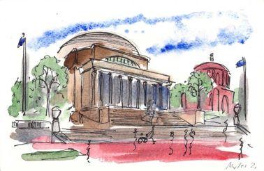 Columbia University: Lowe Memorial Library