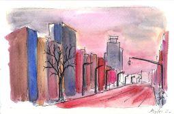 1st Ave Sunset