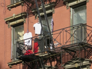 Forsyth Street fire escape