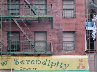 A neighborhood in need of serendipity