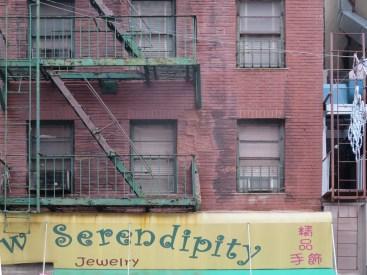 A neighborhood in need of serendipity