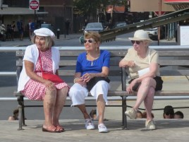 Retired Russians in Brighton Beach