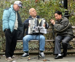 Musicians in Chinatown