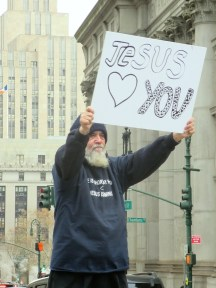 Jesus Loves You at City Hall