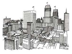 Downtown Newark