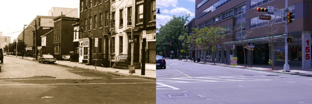 Plane Street homes (demolished by Edison ParkFast)