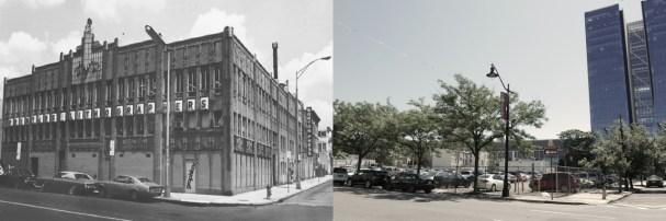Washington Street School for the Dead in 1978, demolished by Rutgers