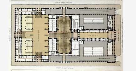 Old Penn Station Plan
