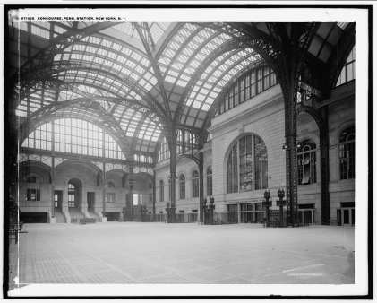 Concourse from North to Southeast in 1905-1915